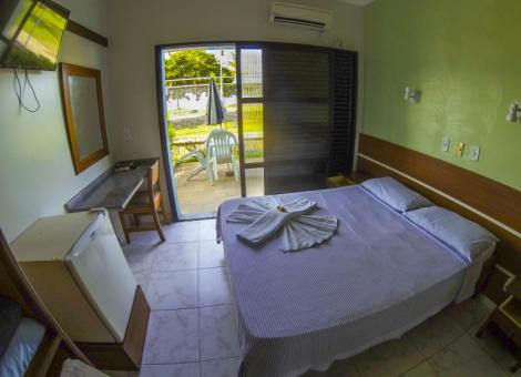 Apartamento Duplo  Casal com Vista Mar (Ala Luxo)