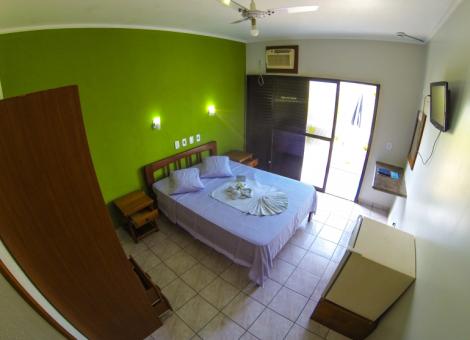 Apartamento Duplo  Casal com Vista Mar (Ala Standard)