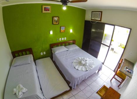 Apartamento Quadruplo  Casal Com Vista Mar (Ala Standard)