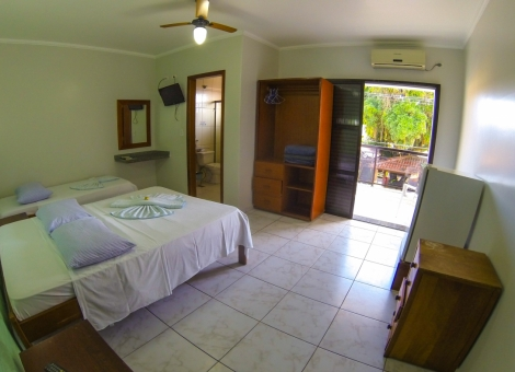 Apartamento Triplo Casal  Sem Vista Mar (Ala Luxo)
